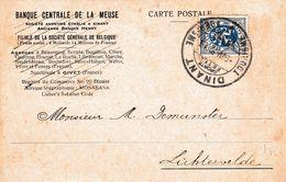 Gelopen Kaart : DINANT Toerisme / Banque Centrale De La Meuse - Postmark Collection