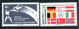 Cyprus - Turkish Cypriot Posts - 1984 International Taekwondo Championship Set MNH (SG 161-162) - Cyprus (Turkey)