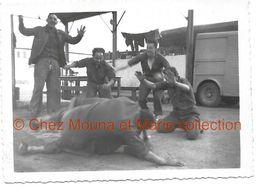 QUILLE DE JAMES 1957 ENTREPOT GENERAL DE L ARMEE DE L AIR 631 - PHOTO 8*6 CM - Guerre, Militaire
