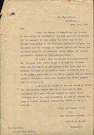 UNIVERSAL POSTAL UNION INSURED LETTERS ST HELENA 1906 - Isola Di Sant'Elena