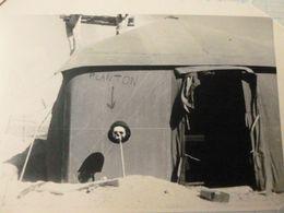 ALGERIE 1955 Sud De Tebessa. Campement Militaire - Guerre, Militaire