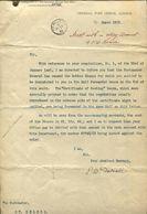 GB ST HELENA PO SUPPLIES STATIONERY HP GRIFFITHS HMSO PRINTERS REG BOOKS 1912 - Isola Di Sant'Elena
