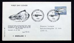 Greenland 1983 Salmon MiNr.140 FDC ( Lot Ks) - FDC