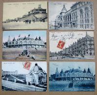 LOT 61 CPA/CPSM - BELGIQUE - VILLES ET VILLAGES DE FLANDRE OCCIDENTALE - Petites Cartes - Quelques Belles Animations - Belgio