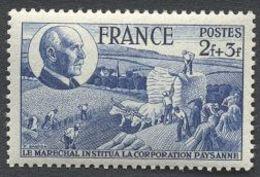 France N°607 Neuf ** 1944 - France