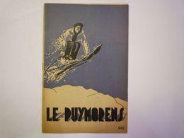 GP 2020 - 2550  SKI  -  LE PUYMORENS  (20 Pages Format 13,5 X 20,5cm)  1936 -37   XXX - Advertising