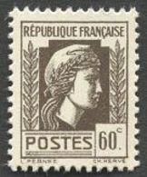 France N°634 Neuf ** 1944 - France