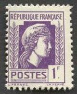 France N°637 Neuf ** 1944 - France