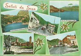 ( SUSA   )(PIEMONT  ) ( ITALIE ) SALUTI DA SUSA - Andere Steden