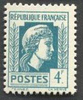 France N°643 Neuf ** 1944 - France