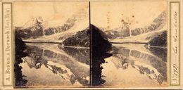 Stereo, Adolphe Braun, Lac Comballes, No. 1937 - Visionneuses Stéréoscopiques