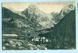 Log Pod Mangartom, 1912, Spodnji Log, Zgornji Log, Unter-, Mittel- U. Oberbreth Mit Manhart U. Jaluz, Predil, Predel - Slovenia