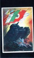 CG45 - Italia - Scene Di Guerra- Ann. Aeroporto 108 - Posta Militare N. 3200 - Patriottiche