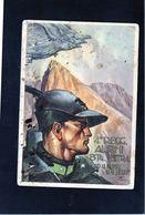 CG45 - Italia - 4° Reggimento Alpini  Btg. Intra - Ann. Posta Militare N. 208 Del 5/6/1940 - Tassata - Régiments