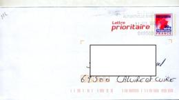 Pap  Carte Rouge Cachet Poste Alfortville - Postal Stamped Stationery