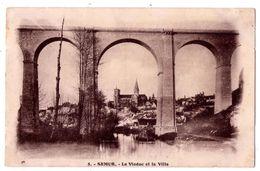 7366 - Semur ( 21 ) - Le Viaduc Et La Ville - Libr. H. Hospied - N°8 - - Semur