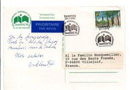 FINLANDE CARTE DE TAMPERE CONGRES UNIVERSEL ESPERANTO 1995 - Esperanto