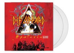 Def Leppard - X2 33t  - Transparent - Hysteria Live - Neuf & Scellé - Hard Rock & Metal