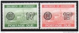 Guernesey - Taxe - 1980 - Yvert N° 28 à 29 ** - Guernsey