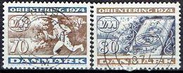 Denmark #  From 1974 STAMPWORLD 576-77 - Denmark