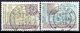 Denmark #  From 1974 STAMPWORLD 581-82 - Denmark