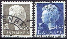Denmark #  From 1975 STAMPWORLD 589-90 - Denmark
