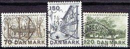 Denmark #  From 1975 STAMPWORLD 595-97 - Denmark