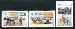 Cyprus - Turkish Cypriot Posts - 1989 Traditional Agricultural Implements Set MNH (SG 270-272) - Cyprus (Turkey)