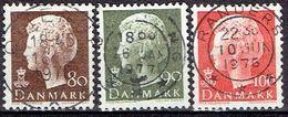 Denmark #  From 1976 STAMPWORLD 625-27 - Denmark