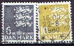 Denmark #  From 1976 STAMPWORLD 628-29 - Denmark