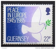 Guernesey - 1985 - Yvert N° 321 ** - Libération De L'Ile - Guernsey