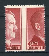 Deutsches Reich MiNr. 801 A Postfrisch MNH Stark Verzähnt (R020 - Errors And Oddities