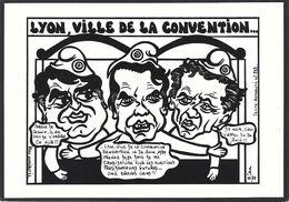 CPM Bicentenaire De La Révolution Tirage Limité Numéroté En 85 Ex. Grenoble Carignon Epinal Lyon - Events