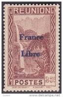 Réunion - N° 226 * Vue -> Bras Des Demoiselles - Emission Surchargée France Libre - Réunion (1852-1975)