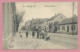 68 - SANKT-LUDWIG - SAINT-LOUIS - Hüningerstrasse - Saint Louis