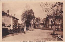 40 / MOUSTEY / AVENUE  DE LA GARE - Francia