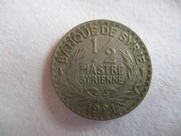 Syria: 1/2 Piastre 1921 - Syrie