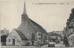 61, Orne, LA CHAPELLE MONTLIGEON, L'Eglise, Scan Recto Verso - Sonstige Gemeinden