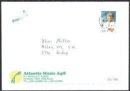 Greenland 2009. Ordinary Mail Sent To Denmark. - Cartas