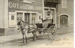 Thaon - Madame Delait En Voiture - Thaon Les Vosges