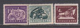 Bulgaria 1951 - Freimarken: Volkswirtschaft(kleines Format), Mi-Nr. 783/85, MNH** - 1945-59 République Populaire