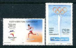 Cyprus - Turkish Cypriot Posts - 2000 Olympic Games, Sydney Set MNH (SG 513-514) - Cyprus (Turkey)