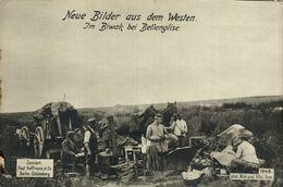 RPPC 17*12cm  IM BIWAK BEI  BELLENGLISE  Paul Hoffmann 1914/15  WWI WWICOLLECTION - Autres Communes