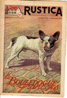 Rustica N 48 Mars 1952 Le Bouledogue Francais - Animali