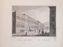 Stampa D'epoca - Genova - Palazzo Reale - Secolo XIX - Estampas & Grabados