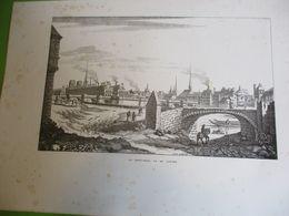 Grande Gravure Le Pont Neuf Vu Du Louvre/PARIS Sous LOUIS XIV/Monuments Et Vues/A Maquet/1883 GRAV379 - Estampas & Grabados