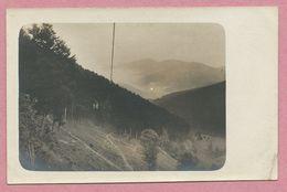 68 - Vogesen - Carte Photo - SEILBAHN - KLEINER BELCHEN - Vallée De MUNSTER - PETIT BALLON - Guerre 14/18 - Frankrijk
