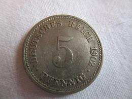 5 Pfennig 1902 A - [ 2] 1871-1918 : Imperio Alemán