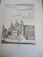 Grande Gravure Hôtel Saint Paul /PARIS Sous LOUIS XIV/Monuments Et Vues/A Maquet/1883 GRAV380 - Estampas & Grabados