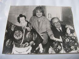 BEAU RETIRAGE PHOTOGRAPHIQUE NOIR ET BLANC DE L'ECRIVAIN ACADEMICIEN PAUL CLAUDEL 1935 JAPON - Riproduzioni